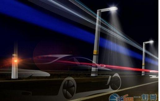 高速公路上的智能路灯系统,车经过时才会亮酒精测试